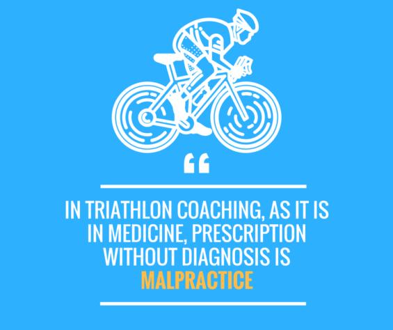 triathlon training guide quote