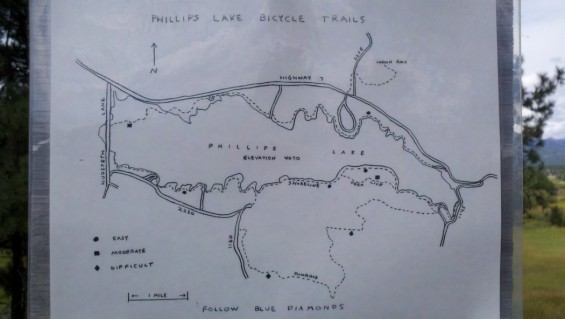 phillips lake trail map