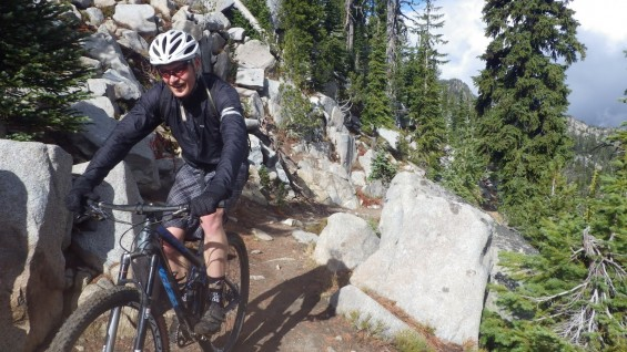 angell pass climb anthony lakes